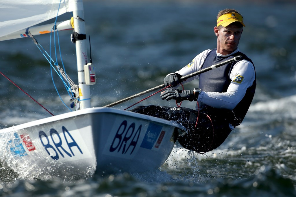Sailor Robert Scheidt is among those standing for the Athletes' Commission