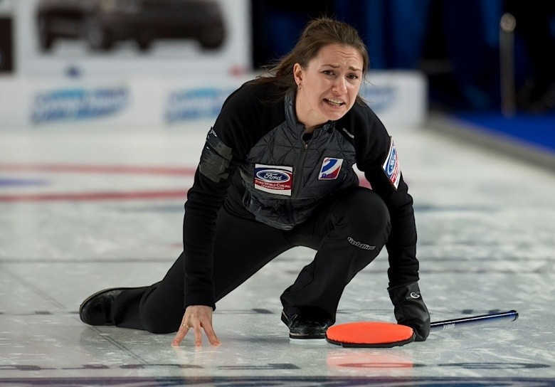 Canada suffer first defeat at World Women's Curling Championships as five teams battle for top spot