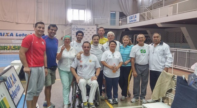 IWAS hold wheelchair fencing course to promote sport in South America