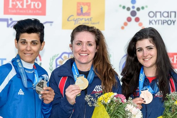 Morgan Craft won gold in Nicosia ©ISSF