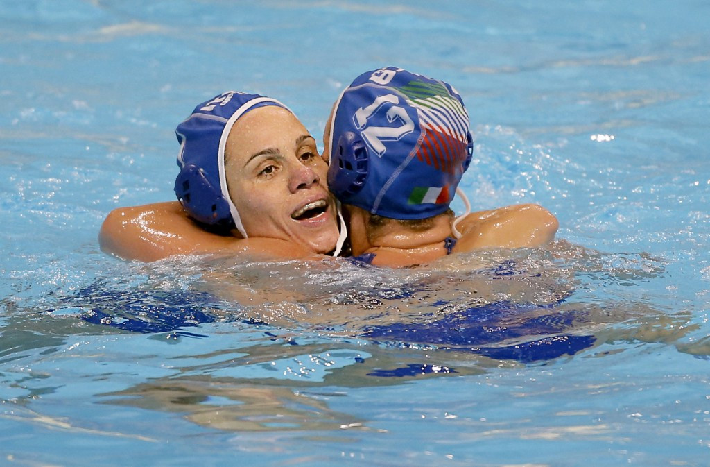 European Championship bronze medallists Italy earned their second win