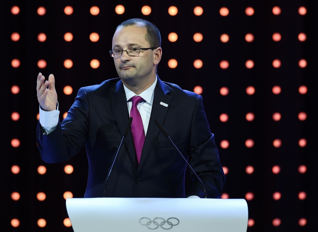 Switzerland's Patrick Baumann is secretary general of FIBA and a member of the IOC ©Getty Images