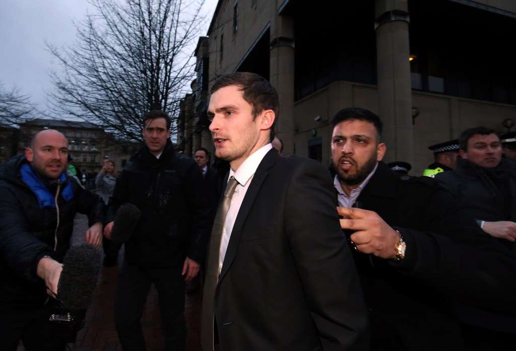 English footballer Adam Johnson faces four to 10 years in jail after being found guilty of sexual activity with a 15-year-old girl