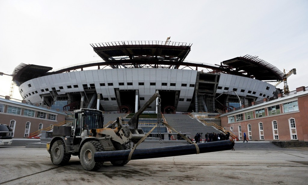 Over budget Russia 2018 World Cup venue to be completed on time, organisers claim