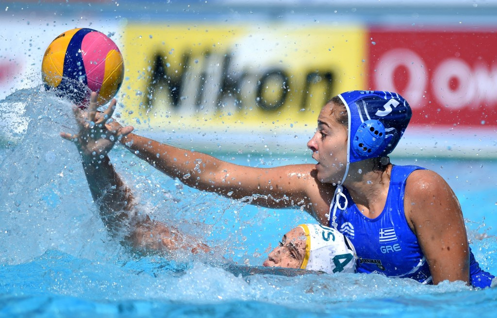 Greece's women are safely into the knock-out stage