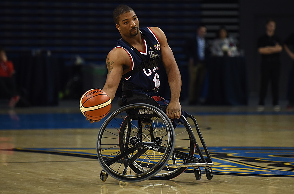 The United States won a bronze medal in the men's wheelchair basketball competition at the London 2012 Paralympics