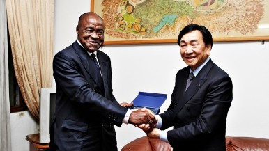 AIBA President CK Wu had declared the African Olympic Qualifying Tournament as a success ©AIBA