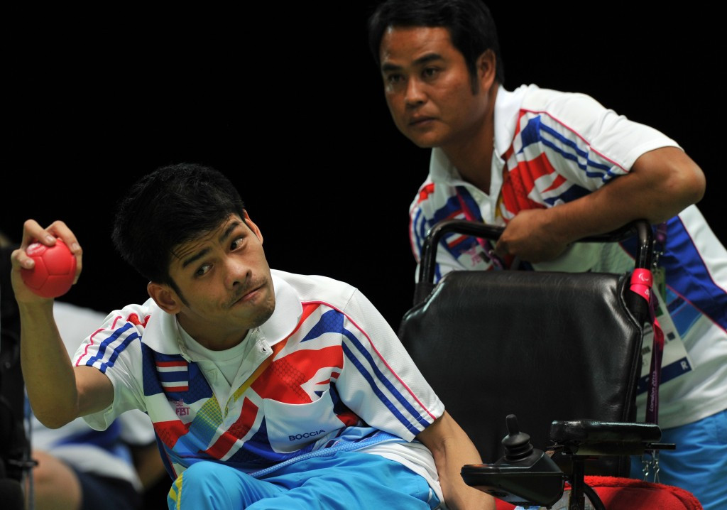 Pattaya Tadtong set up a re-match of the Paralympic final with David Smith