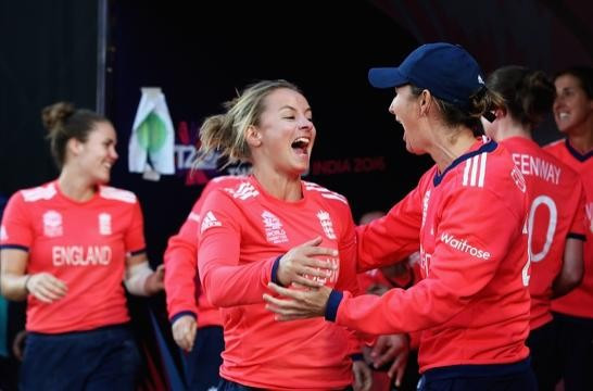 England's women claim final-ball victory over West Indies to move to brink of ICC World Twenty20 semi-finals