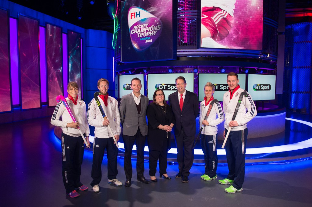 BT Sport to broadcast men's and women's FIH Champions Trophy