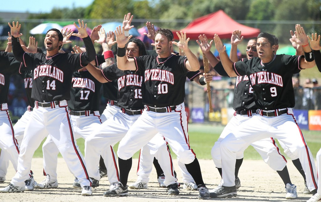 New Zealand occupy first position in the men's softball rankings