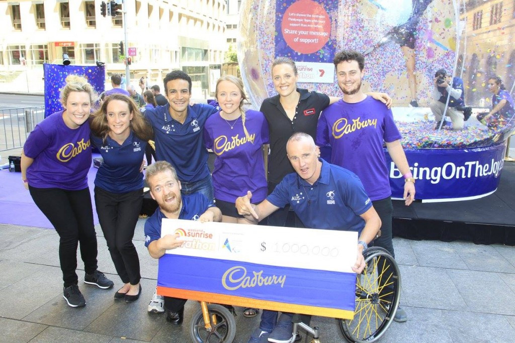 "Australian TV Channel's ""Parathon"" raises over $1.7 million for Rio 2016 Paralympic hopefuls"