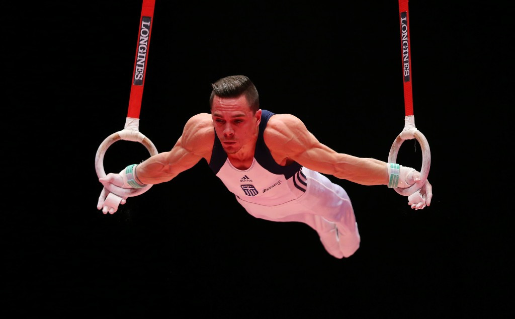 World champion Petrounias claims rings title at FIG World ...