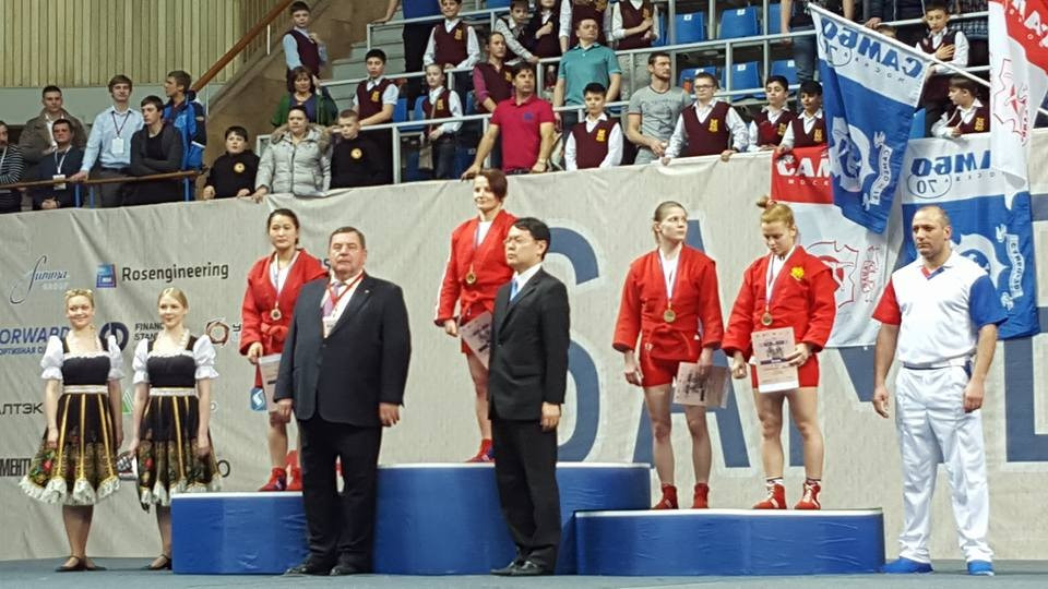 Hosts Russia show their class with 10 gold medals on opening day of Sambo World Cup