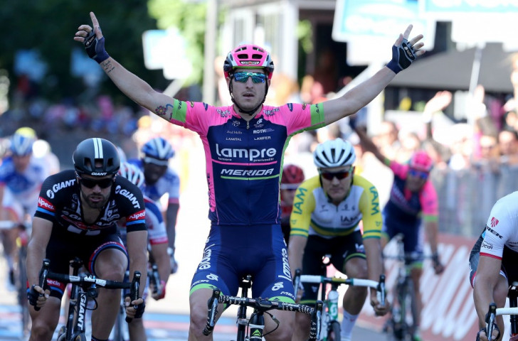 Modolo at the double as Contador remains in pole position at Giro d'Italia