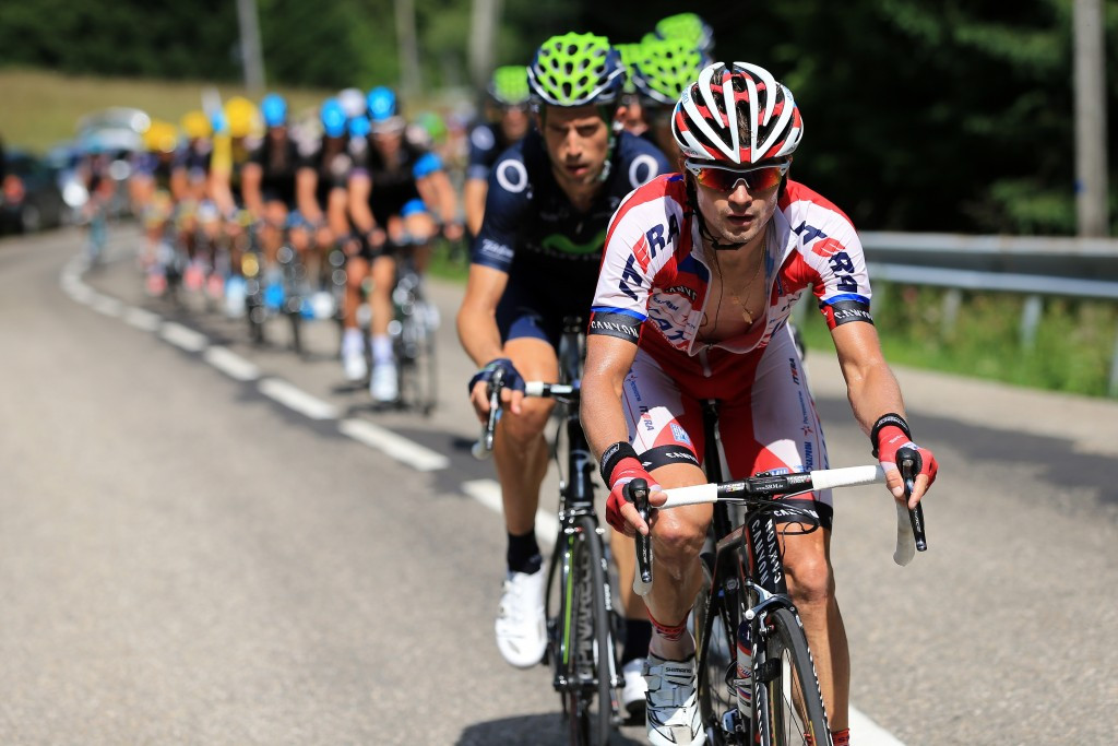 Katusha rider Eduard Vorganov was provisionally suspended last month after a positive test for meldonium ©Getty Images