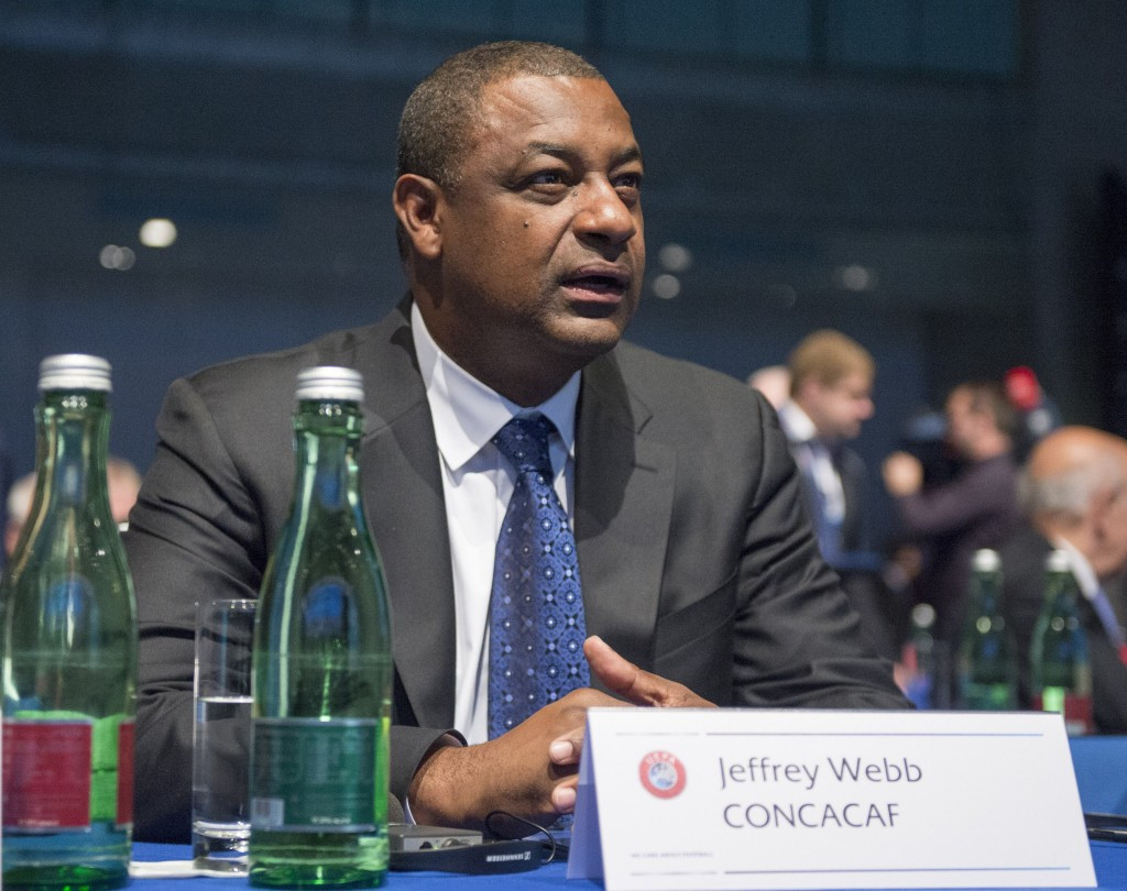 CONCACAF President Jeffrey Webb is one of those to have been arrested in morning raids by Swiss police in Zurich