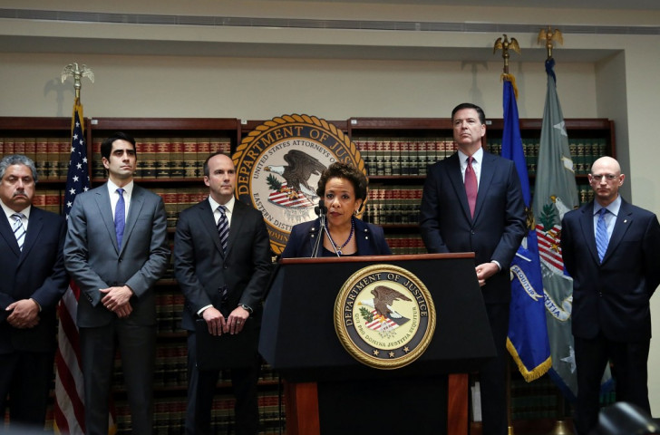 United States Department of Justice declare war on FIFA on dramatic day for football