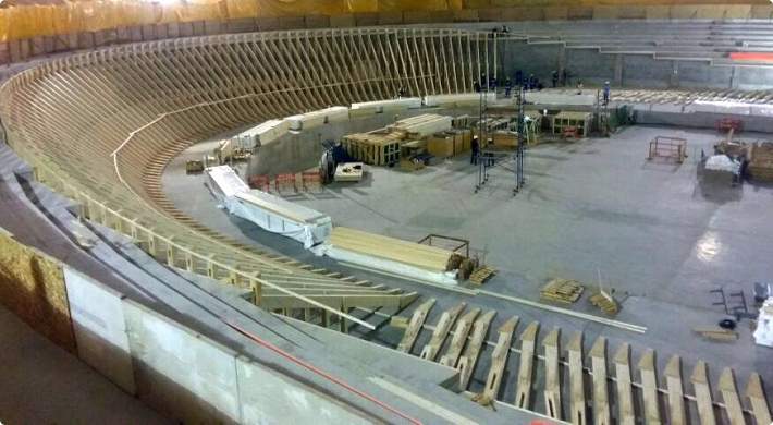 A delay in laying a safe track at the Velodrome has forced the IOC and Rio 2016 to cancel the track cycling test event