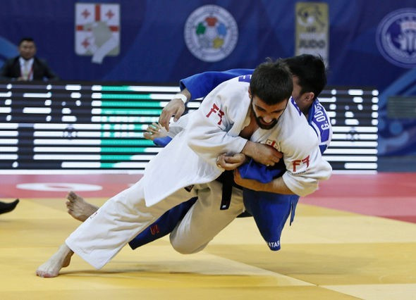 Tatalashvili strengthens claim for Olympic berth after triumphing at IJF Tbilisi Grand Prix