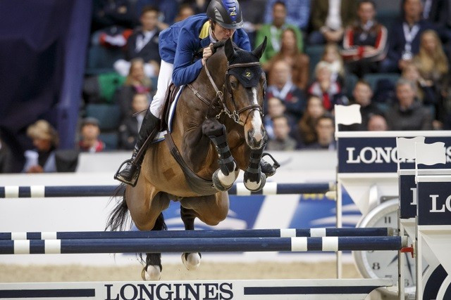 Ahlmann triumphs in second round but defending champion Guerdat takes FEI World Cup Jumping Final lead