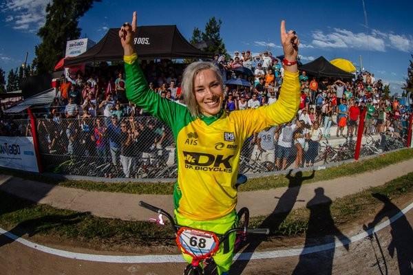 Buchanan beats Pajon at opening UCI BMX Supercross World Cup
