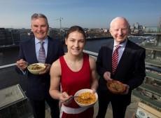 Boxing gold medallist Taylor helps launch Kellogg's sponsorship of Irish Olympic team