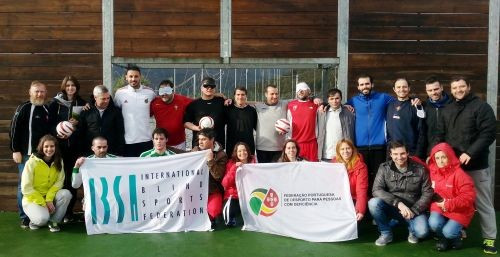 IBSA Football hold training workshop in Portugal