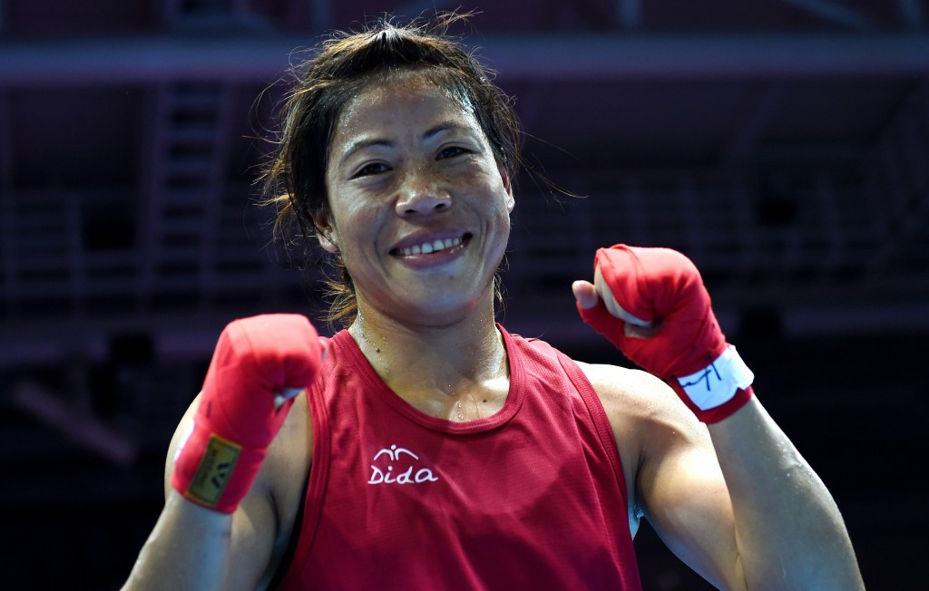 London 2012 bronze medallist Kom begins Rio 2016 qualifying campaign at Women's World Boxing Championships with win