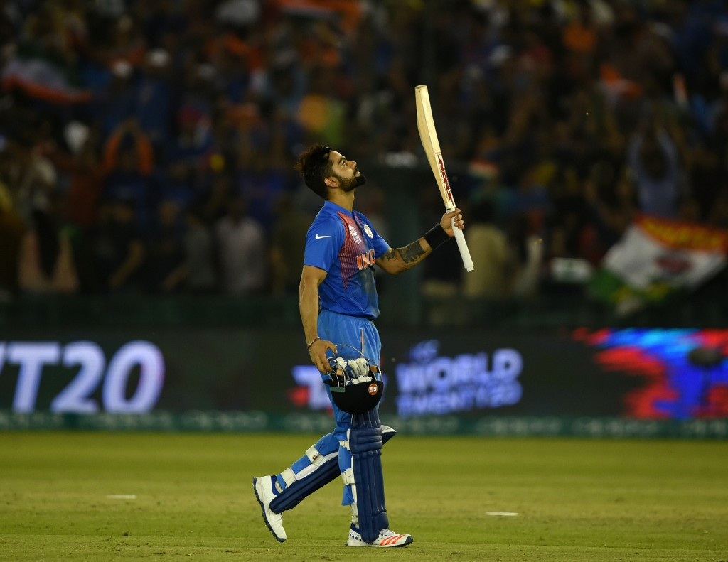 Kohli heroics send India into World Twenty20 semi-finals as Afghanistan cause major shock