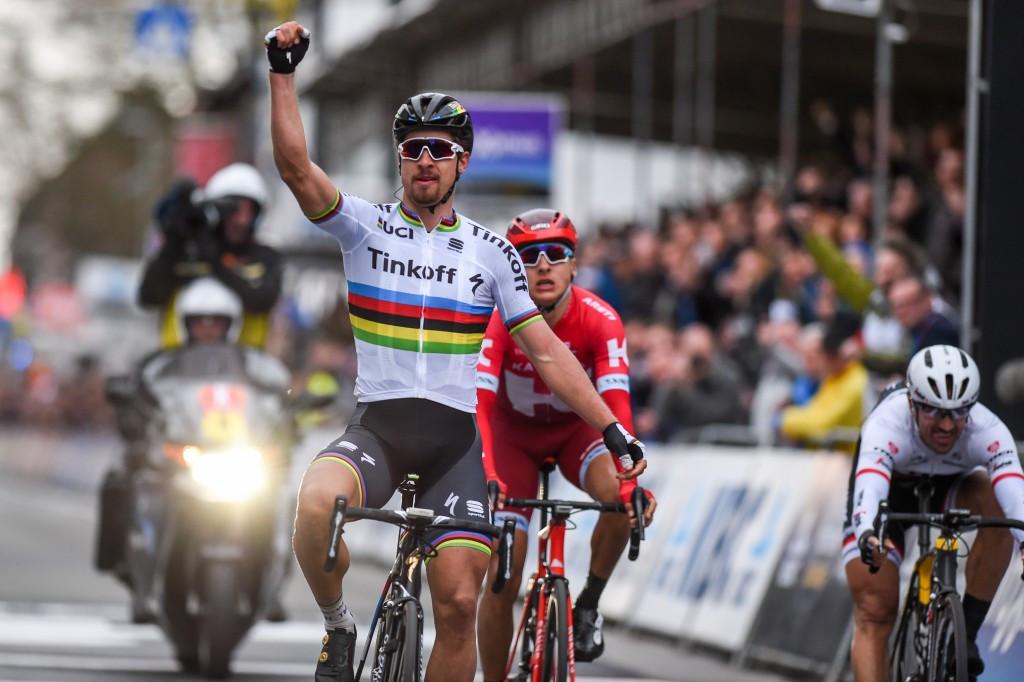 World champion Sagan earns second Gent-Wevelgem win as Blaak wins women's race
