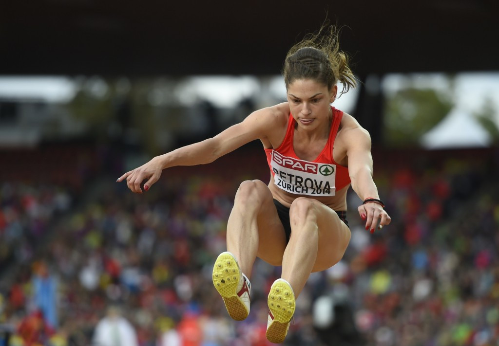 Triple jumper Gabriela Petrova of Bulgaria has tested positive for meldonium ©Getty Images