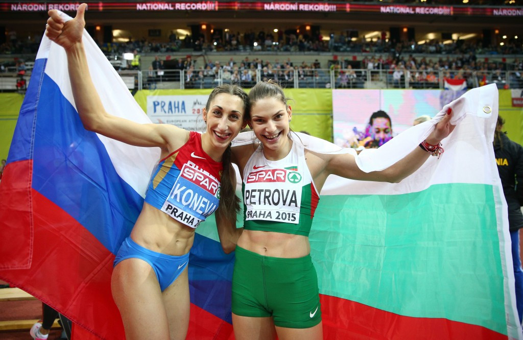 Gabriela Petrova of Bulgaria won European indoor silver in Prague in 2015