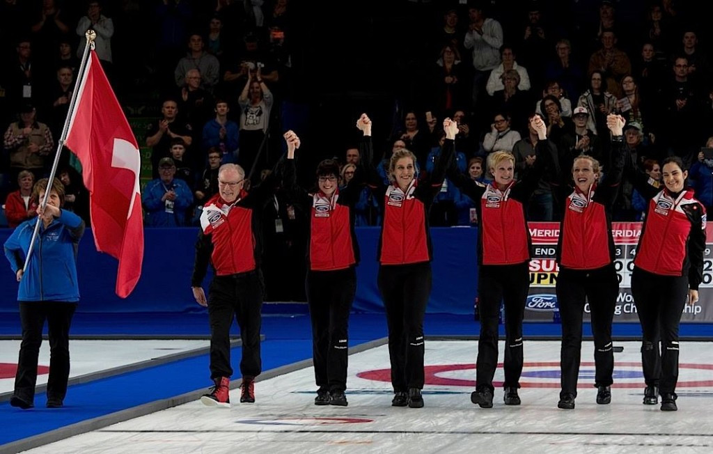 Switzerland defend World Women's Curling Championship title with victory over Japan