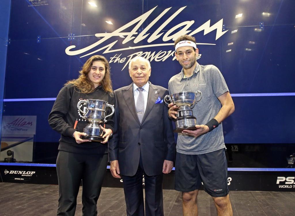 Elshorbagy and El Sherbini capture PSA British Open titles for Egypt