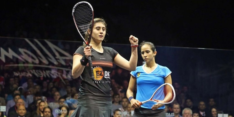 Nour El Sherbini is the first Egyptian winner of the women's title