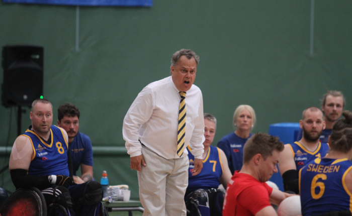 Swedish head coach to assist Finland's wheelchair rugby team in Rio 2016 Paralympic Games qualification tournament