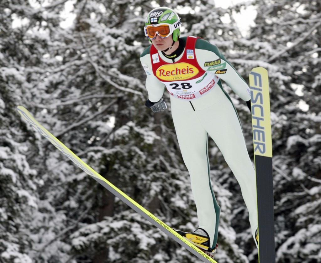 Hannu Manninen won an Olympic gold medal in Salt Lake City