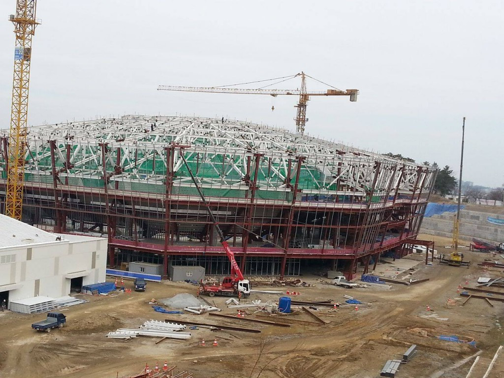 The ownership of the Gangneung Hockey Centre will be passed to Daemyung Holdings