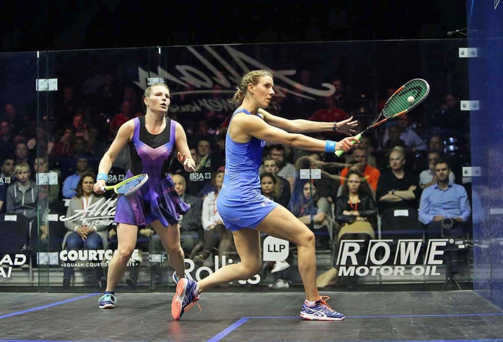 Massaro announced as top seed for PSA Women's World Championship
