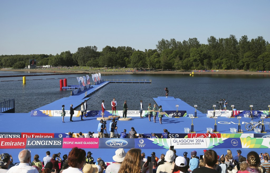Triathlon was held at Strathclyde Country Park during the 2014 Commonwealth Games