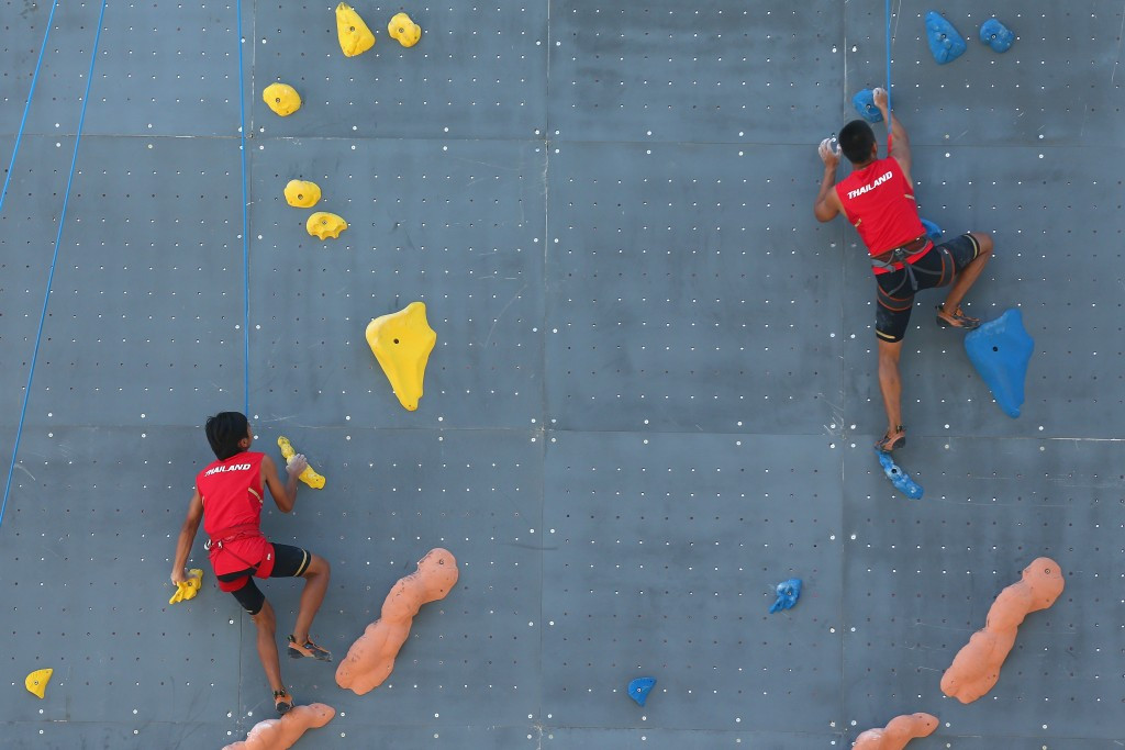 Sport climbing is bidding for Olympic inclusion at Tokyo 2020
