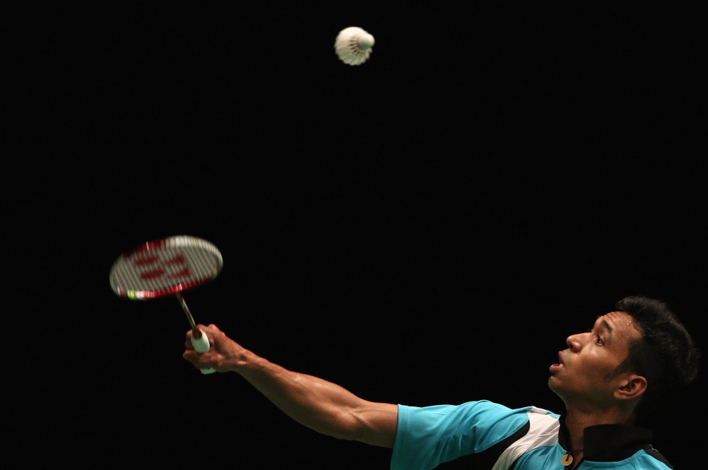 Men's singles qualification second seed Zulfadli Zulkiffli of Malaysia was the highest-profile casualty at the qualification stage of the BWF India Open ©Getty Images
