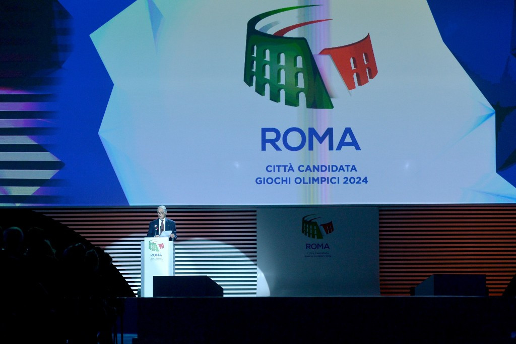 The airline will be a Top sponsor for the Rome 2024 bid  ©Getty Images