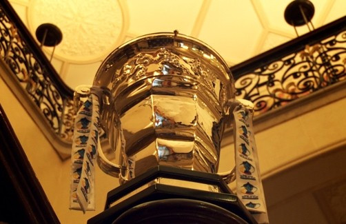 The Rugby League World Cup trophy will be named after Paul Barriere ©RLIF
