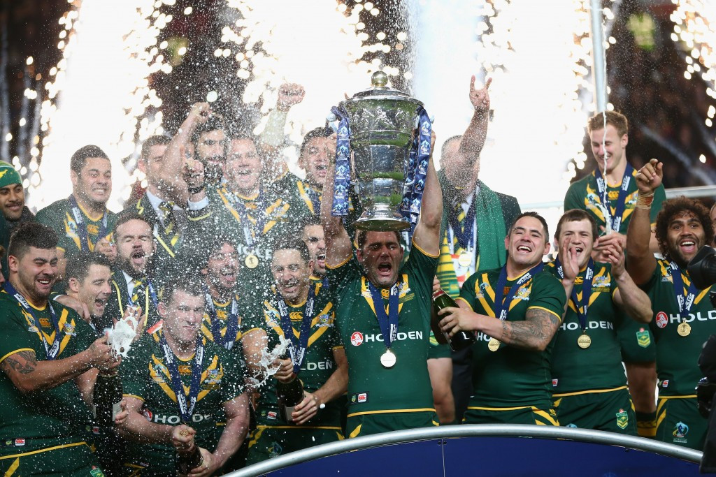 Australia are the defending champions after beating New Zealand in the 2013 final