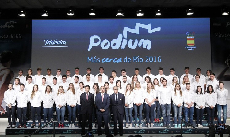 Spanish Olympic Committee celebrate Podium Progamme first anniversary