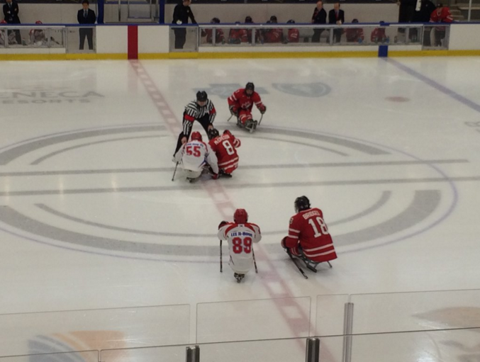 Hosts United States make winning start at Ice Sledge Hockey Pan Pacific Championships