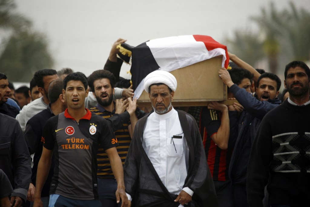 A suicide bomber caused carnage last week at a local football tournament south of Baghdad