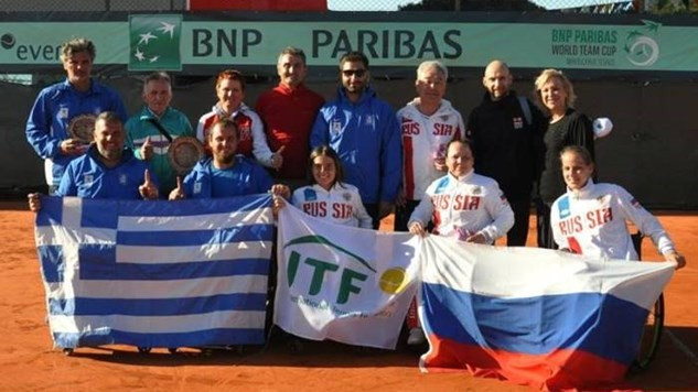 Russia secure spot in women's BNP Paribas World Team Cup World Group